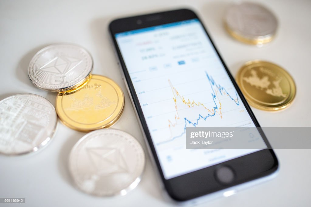 Cryptocurrencies Rally After First Quarter Slump : News Photo