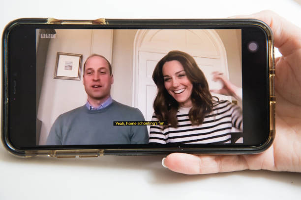 GBR: The Duke And Duchess Of Cambridge Participate In Broadcast Interview On BBC Breakfast