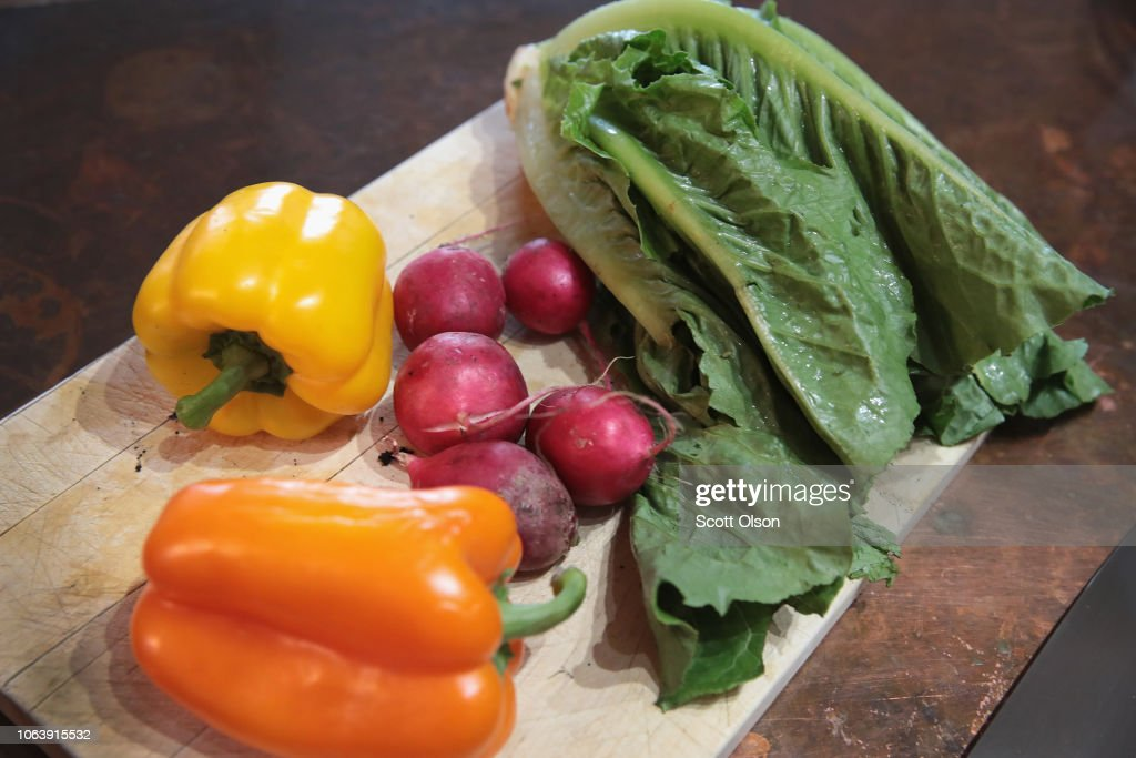 CDC Warns Consumers Not To Eat Romaine Lettuce Over E Coli Outbreak : News Photo