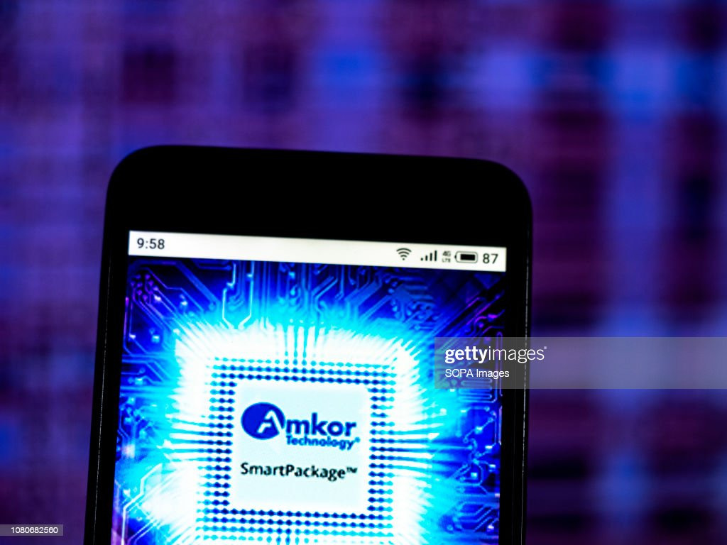 Amkor Technology Semiconductor manufacturing company logo