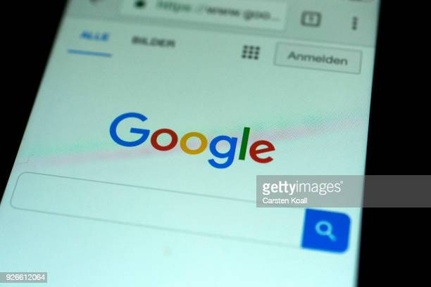 In this photo illustration the app of Google Chrome is displayed on a smartphone on March 3 2018 in Berlin Germany The leftwing organizers of the...