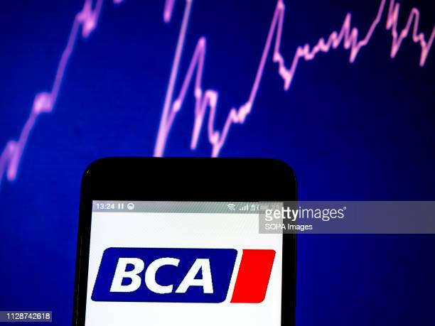 In this photo illustration the BCA Marketplace PLC former British Car Auctions logo seen displayed on a smartphone