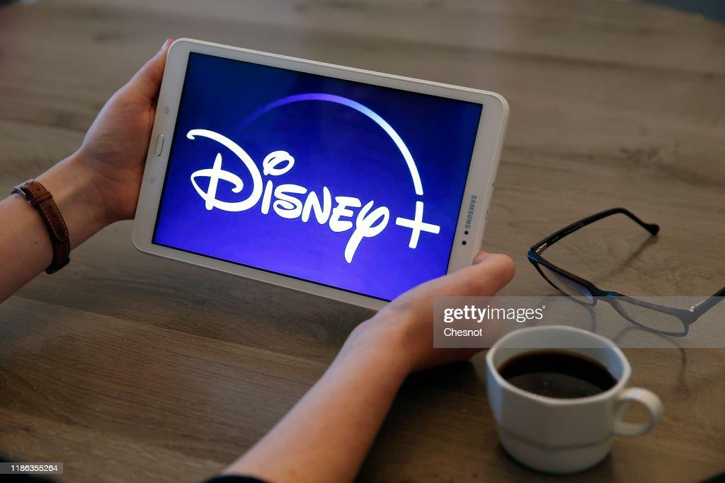 Disney+ : Illustration : News Photo