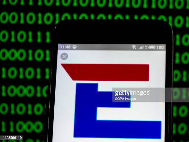 In this photo illustration the Engility Scientific Analytical Corporation logo seen displayed on a smartphone