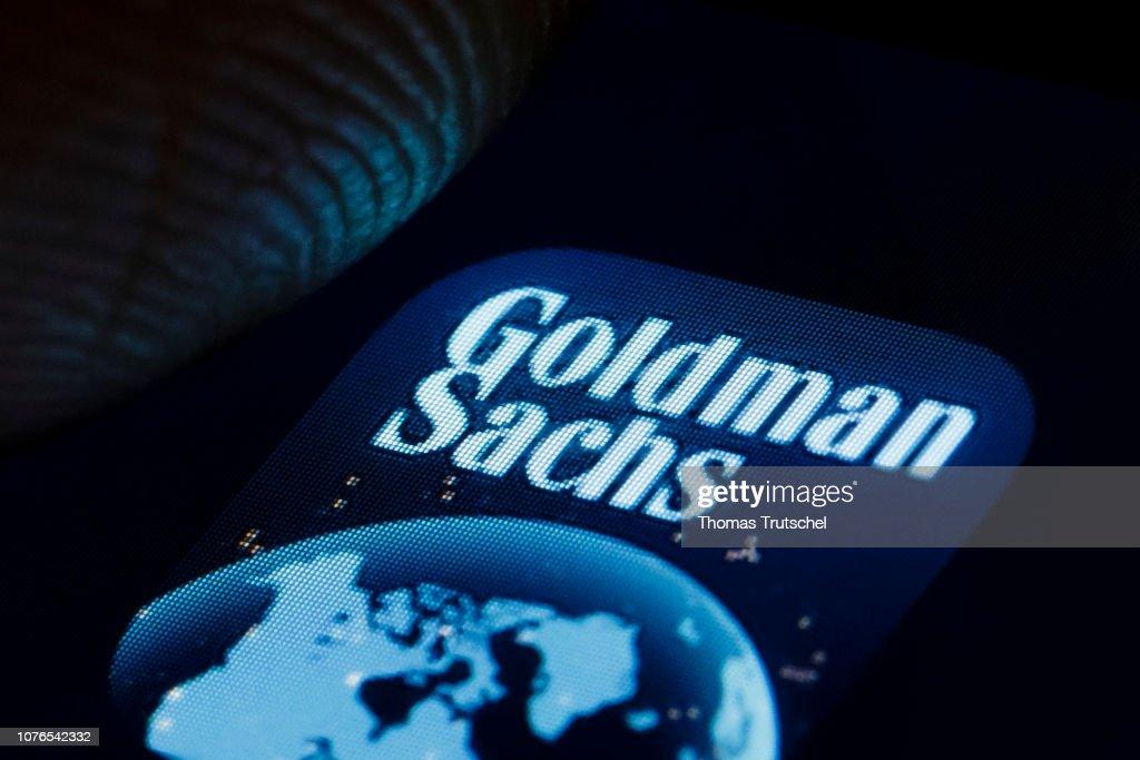 Goldman Sachs : News Photo