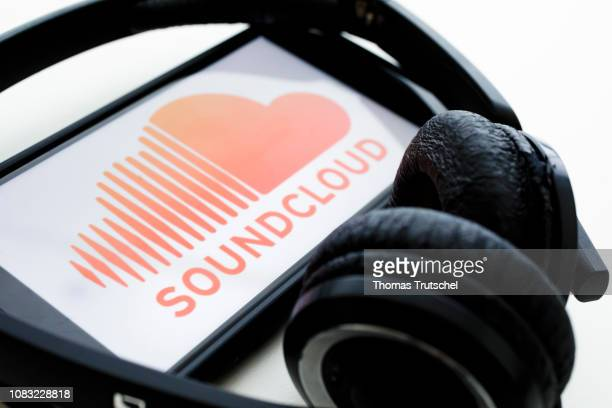In this photo illustration the logo of the music streaming service SoundCloud is displayed on a smartphone on January 16 2019 in Berlin Germany