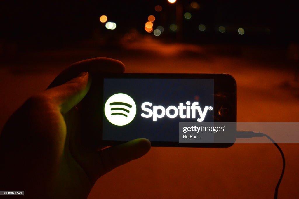 Spotify Now Twice as Big as Apple Music : News Photo