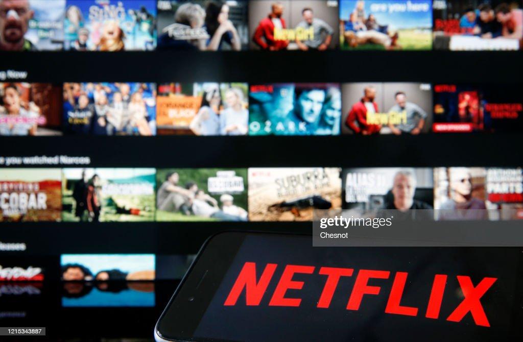 Netflix : Illustration : News Photo