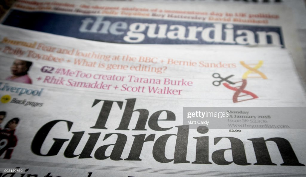 The Guardian Newspaper Launches New Tabloid Format
