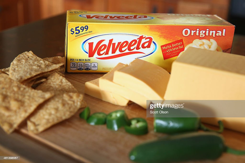 Kraft Foods Warns Of Possible Velveeta Shortage : News Photo