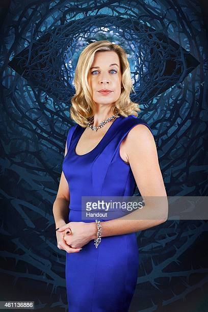 In this photo provided by Channel 5 Celebrity Big Brother 2015 housemate Katie Hopkins poses for a photo ahead of the launch of the Channel 5 reality...