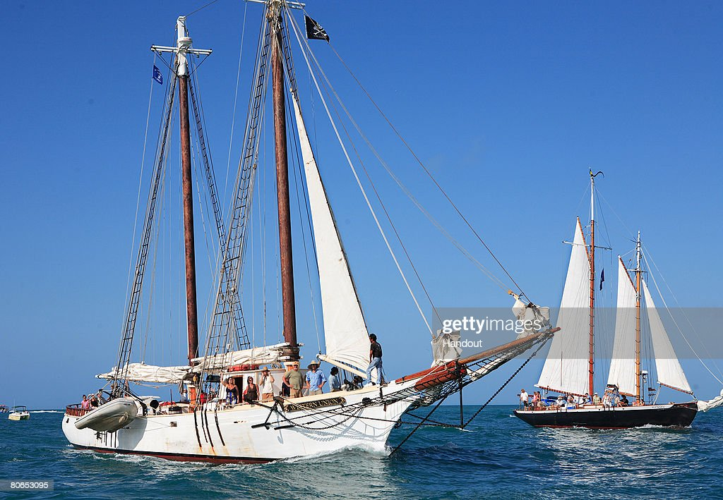 Schooner western union arrives in key west pictures getty images