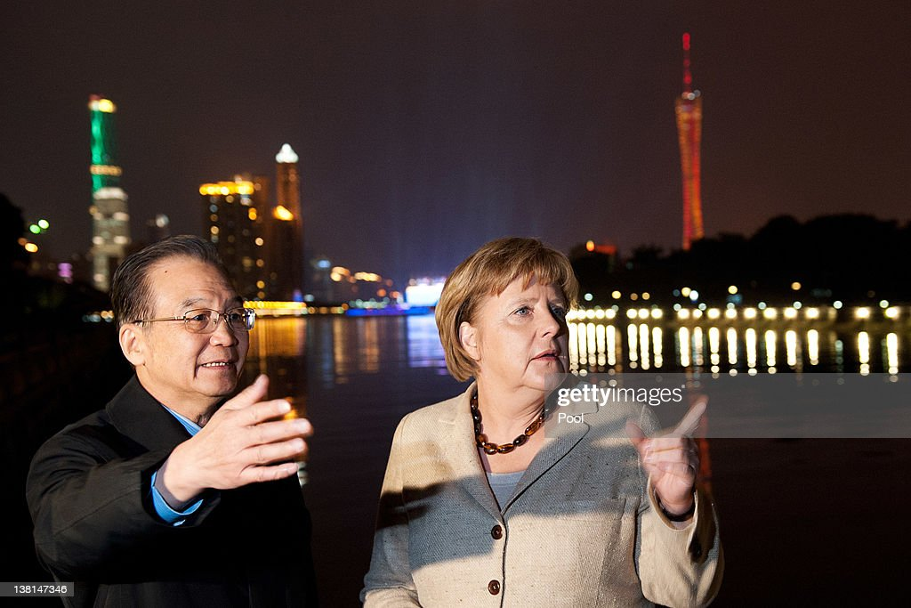 German Chancellor Angela Merkel Visits China - Day 2