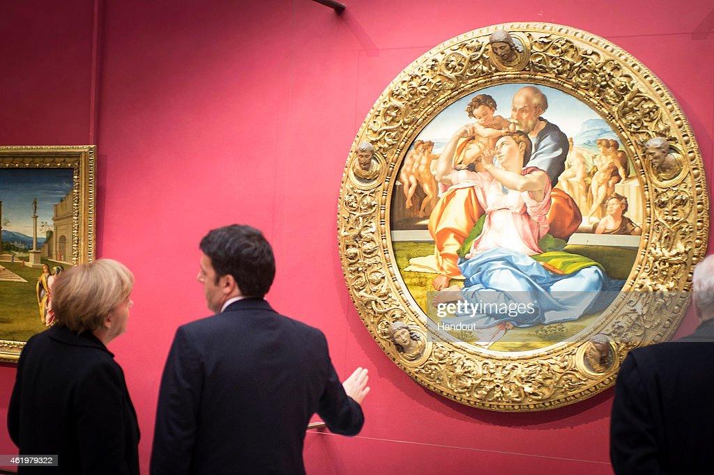Italian - German Bilateral Summit : News Photo