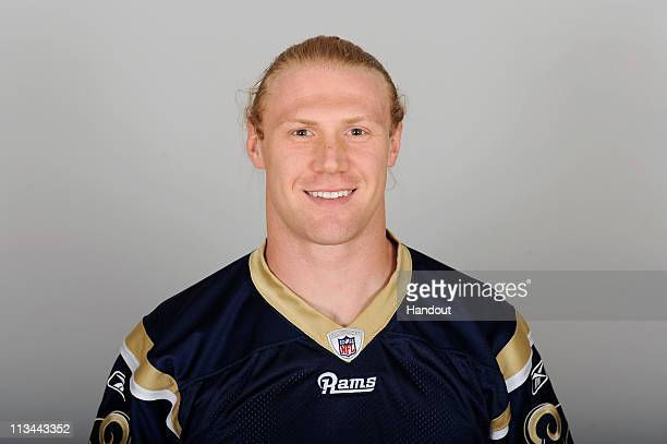 In this photo provided by the NFL Bobby Carpenter of the St Louis Rams poses for his 2010 NFL headshot circa 2010 in St Louis Missouri