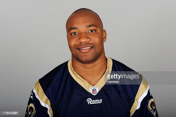 In This Photo Provided By The Nfl Kc Asiodu Of The St Louis Rams Poses For