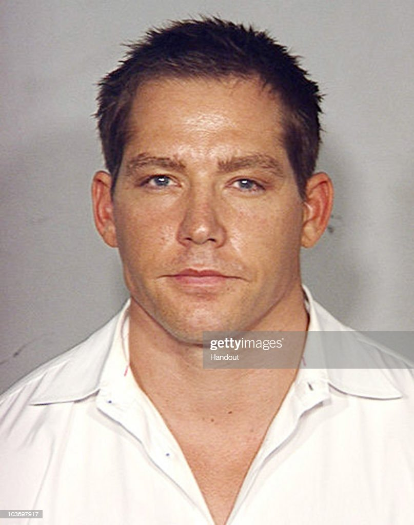 In this photo released by the Las Vegas Metropolitan Police Department on August 28, 2010, Cy Waits is pictured in a police booking photo in Las Vegas, Nevada. According to reports, Paris Hilton and her boyfriend Waits were arrested late Friday night after being stopped on the Las Vegas Strip in a black Cadillac Escalade by a police motorcycle officer who smelled marijuana smoke coming from the vehicle driven by Waits. Hilton was charged with suspicion of felony cocaine possession after police found a small amount of cocaine in her purse. Waits charged with driving under the influence.