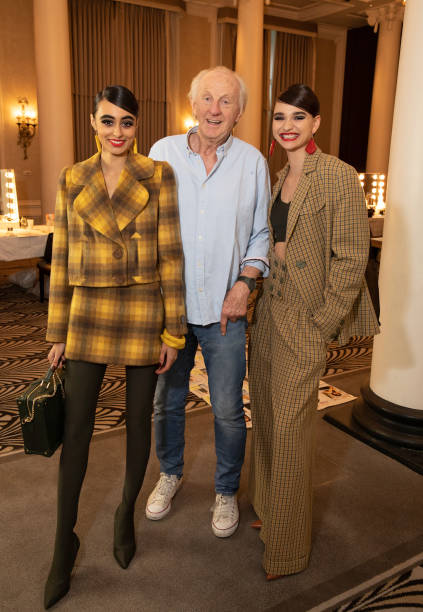 GBR: Paul Costelloe - Backstage - LFW February 2021