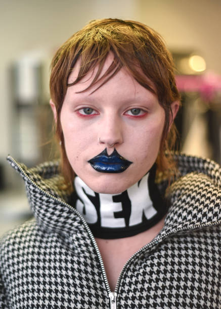 GBR: Lula Laora - Backstage - LFW February 2021