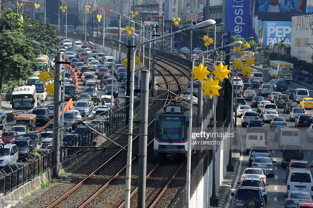 PHILIPPINES-ECONOMY-TRAFFIC : News Photo