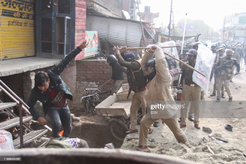 TOPSHOT-INDIA-POLITICS-RIGHTS-UNREST : News Photo