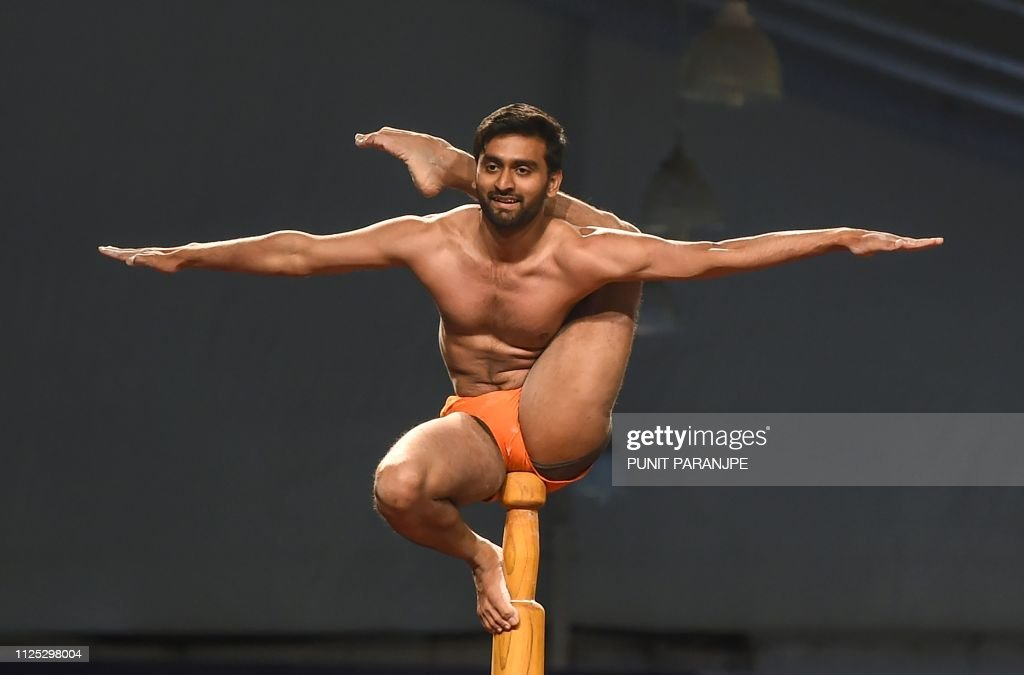 IND: India hosts first 'yoga on a pole' world championships