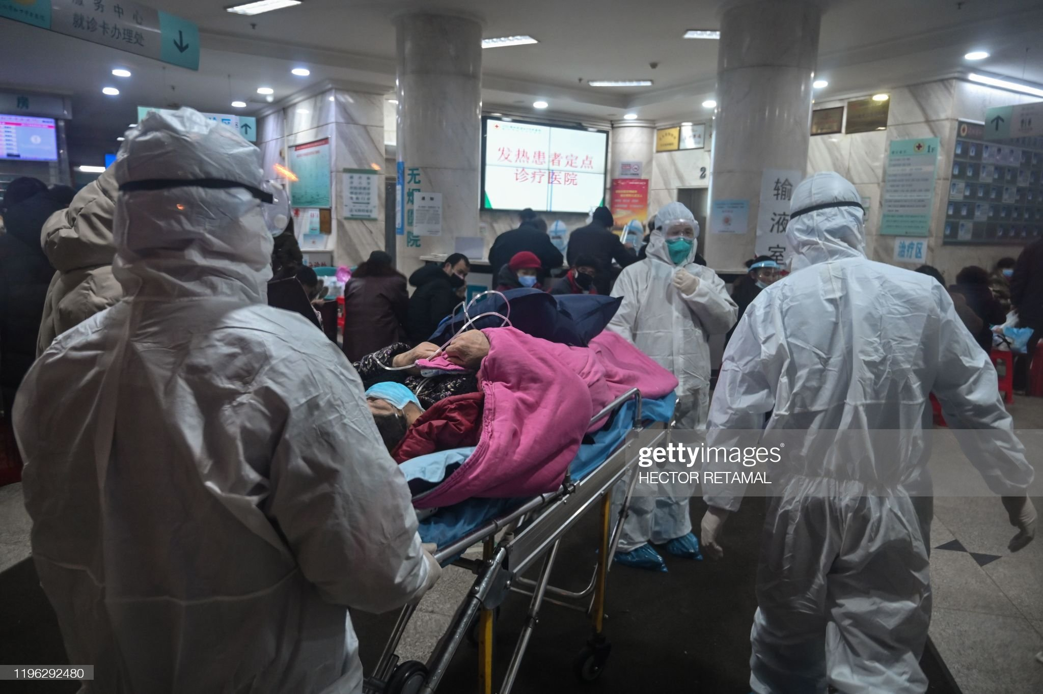TOPSHOT-CHINA-HEALTH-VIRUS : News Photo
