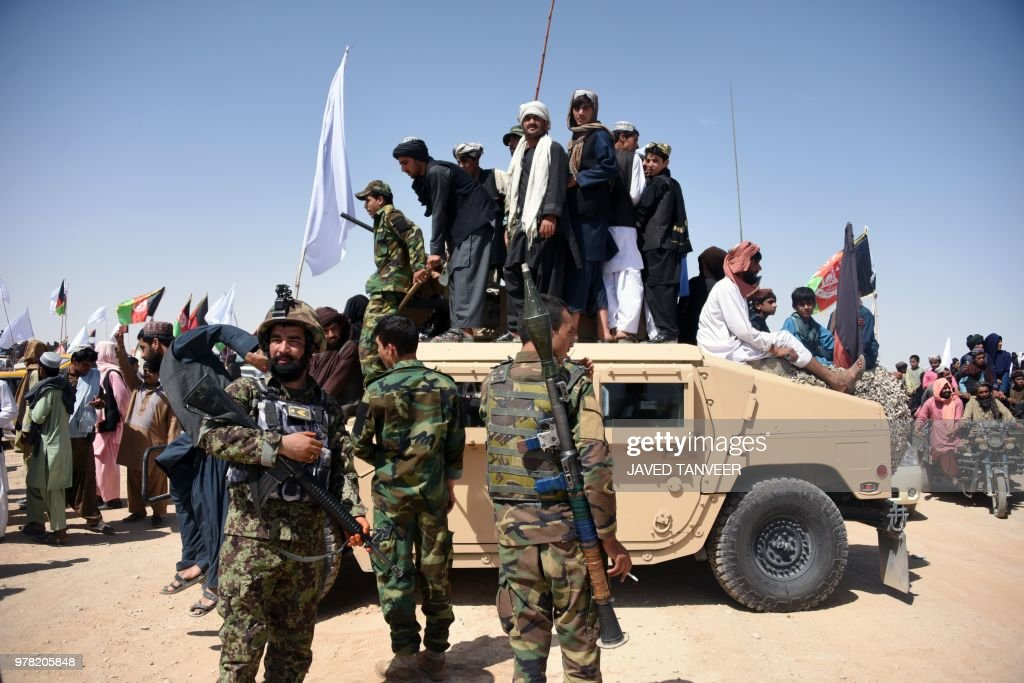 AFGHANISTAN-UNREST-CEASEFIRE : News Photo