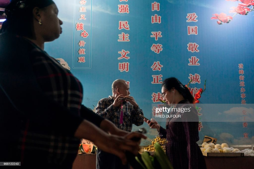 CHINA-AFRICA-TRADE-IMMIGRATION : News Photo