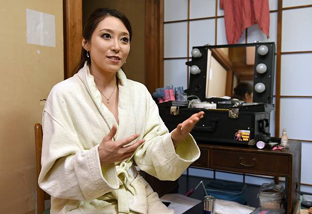 STORY JAPAN-SEX-PORNOGRAPHY-ENTERTAINMENT-MEN FEATURE BY ALASTAIR HIMMER In this photo taken