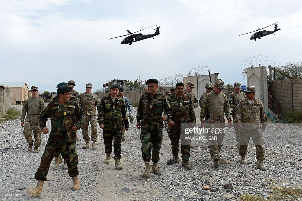 AFGHANISTAN-US-ARMY-CONFLICT-FOCUS : News Photo