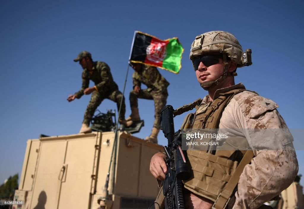 AFGHANISTAN-US-CONFLICT-TROOPS : News Photo