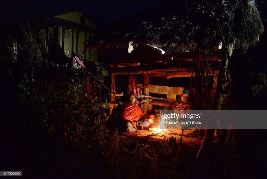 NEPAL-WOMEN-RELIGION-SOCIETY : News Photo