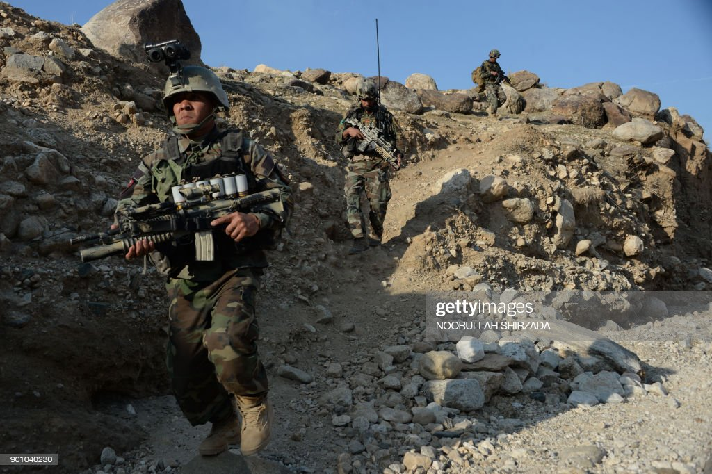 AFGHANISTAN-CONFLICT-US-IS-MILITARY : Foto di attualità