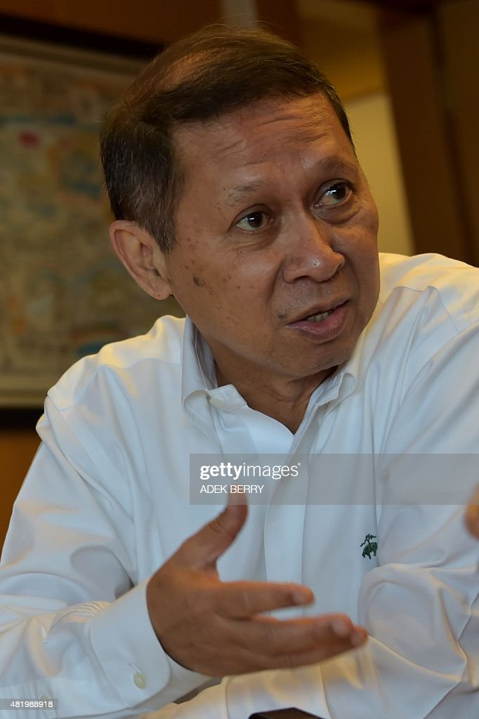 11db05fd In this photograph taken on July 2 Richard Lino, president director ...