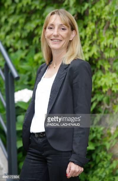 In this photograph taken on June 14 French 'La Republique en Marche' party candidate Sophie BeaudouinHubière for the first constituency of Haute...
