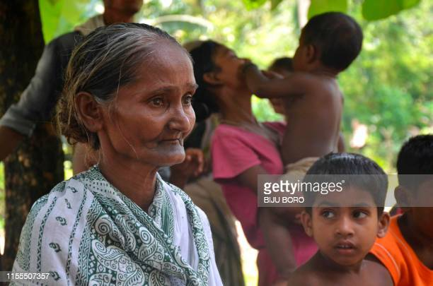 In this photograph taken on June 30 Madhubala Mandal one of many to fall foul of a citizenship process in the north-eastern Indian state of Assam,...
