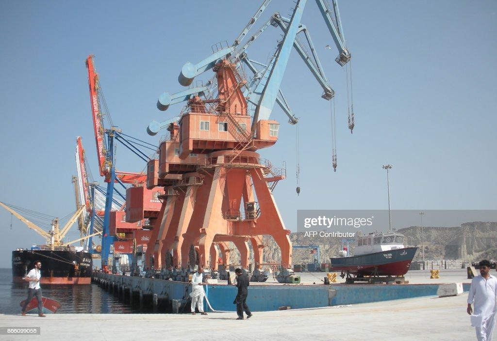 PAKISTAN-CHINA-DIPLOMACY-INFRASTRUCTURE-ECONOMY : News Photo