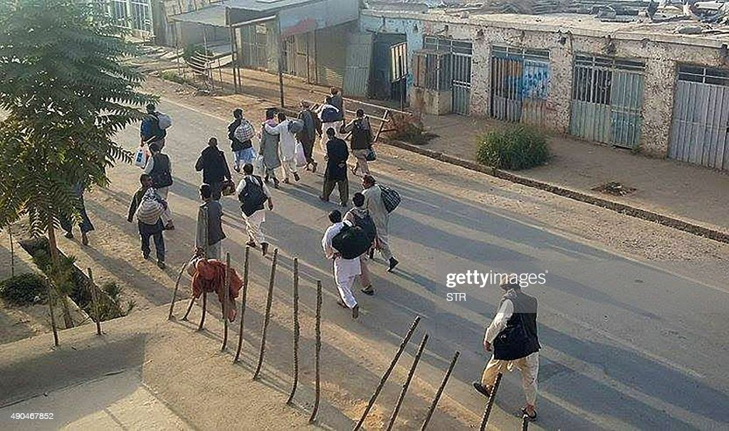 AFGHANISTAN-UNREST-TALIBAN : News Photo
