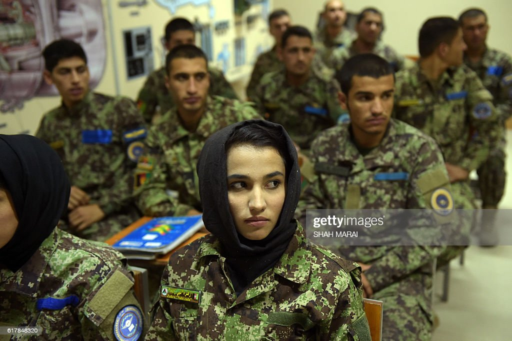 AFGHANISTAN-UNREST-AIRFORCE-ARMY-DEFENCE : News Photo