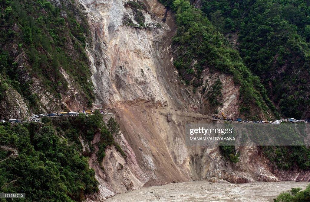 INDIA-NEPAL-WEATHER-FLOOD : News Photo
