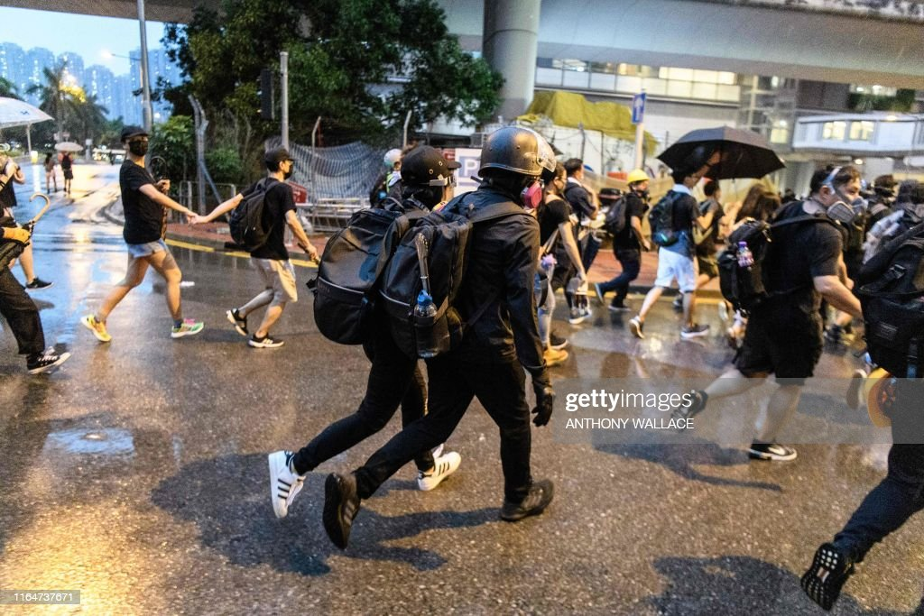HONG KONG-POLITICS-CHINA-UNREST-PROTEST : News Photo