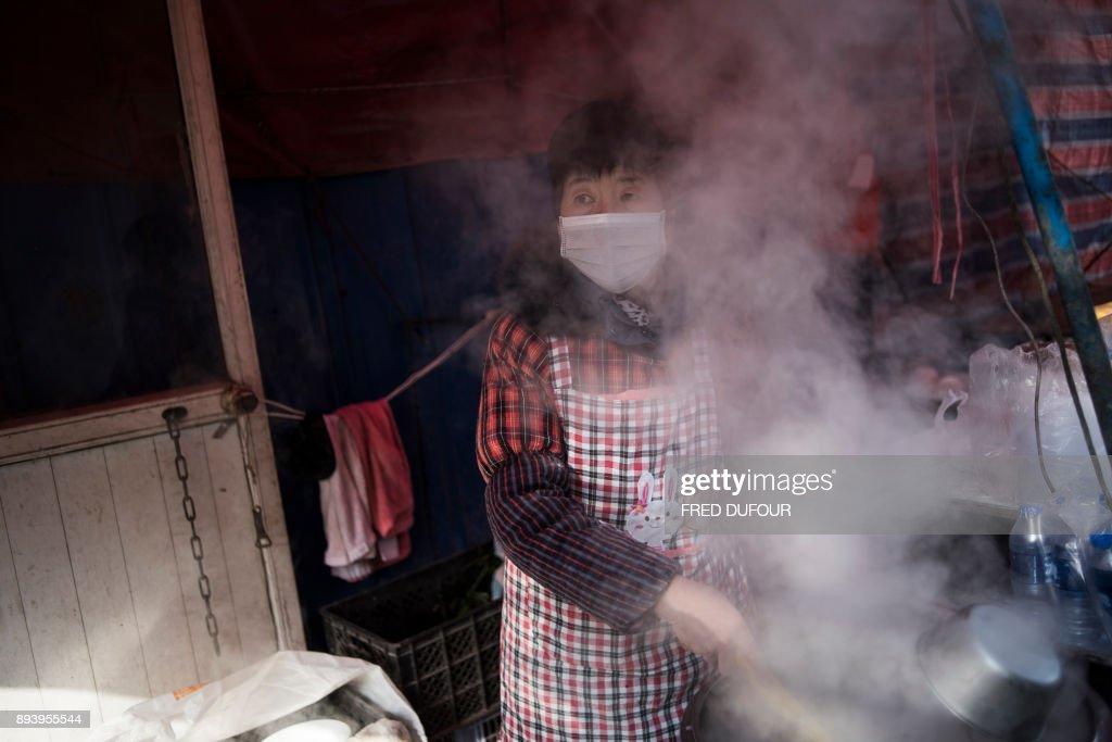 CHINA-ENERGY-POLLUTION : News Photo
