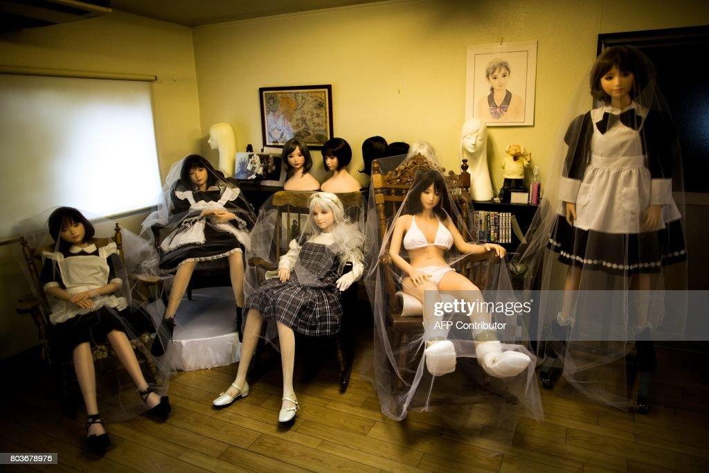 Sex med japanska sex dockor