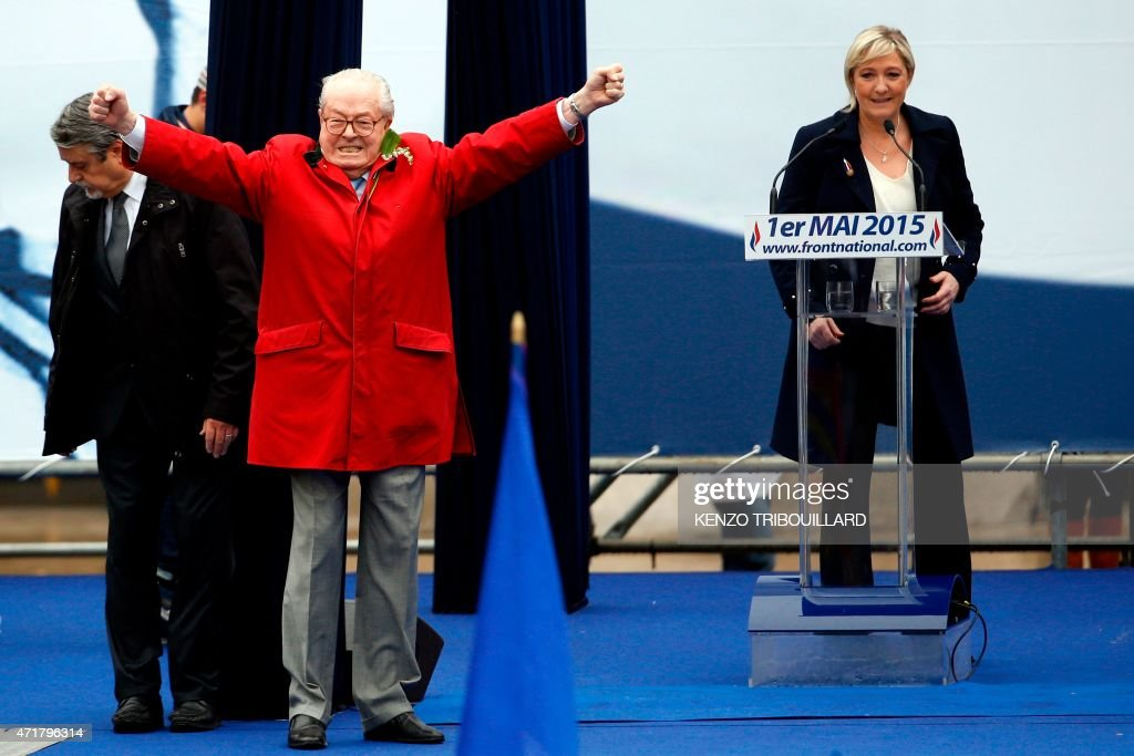 FRANCE-POLITICS-PARTY-FN-MAY1-YEAR2015 : News Photo