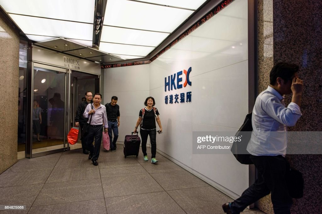 HONG KONG-ECONOMY-FINANCE-TRADING-BUSINESS : News Photo