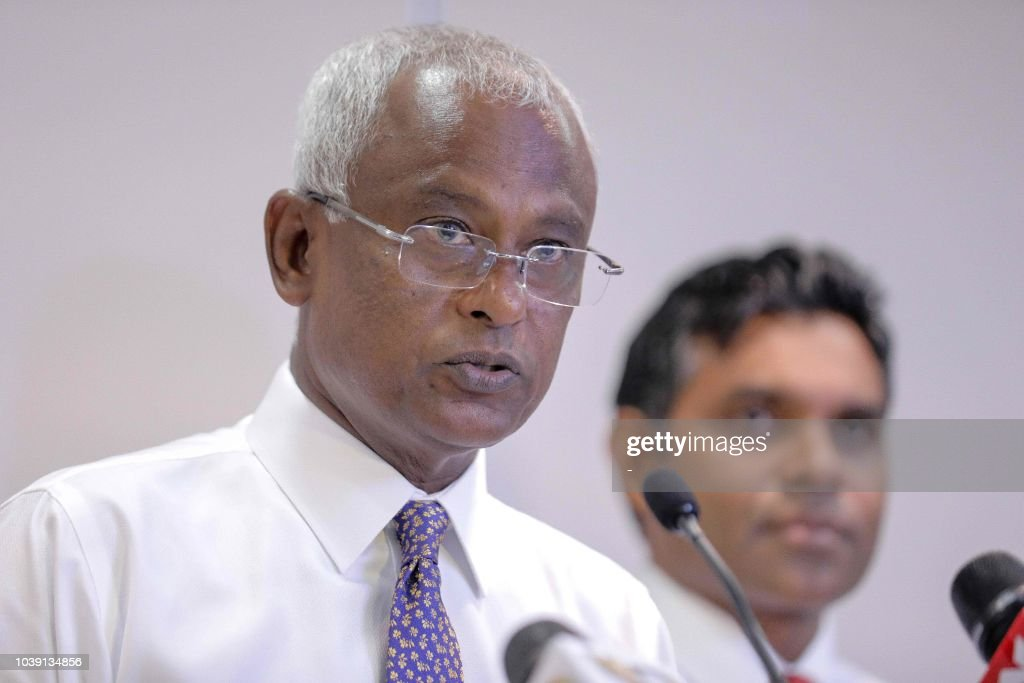 MALDIVES-VOTE : News Photo