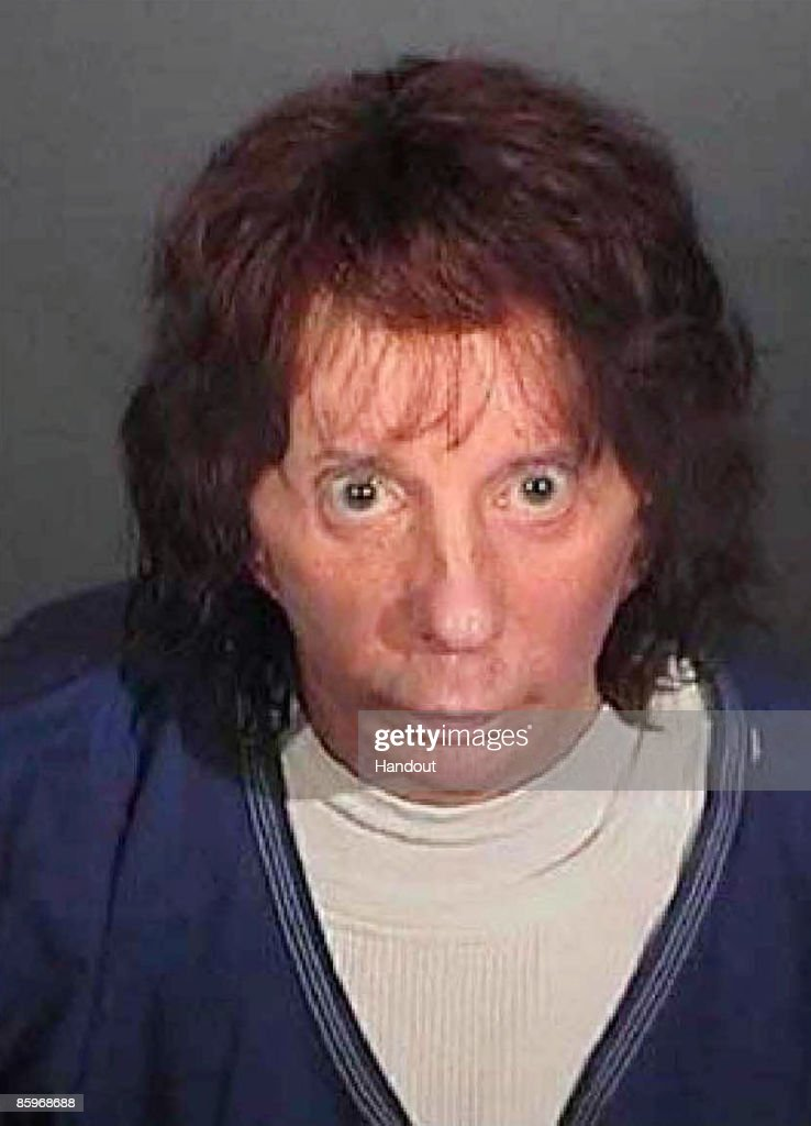 In this police booking photo released by the Los Angeles County Sheriff's Dept., rock music producer Phil Spector poses for a mugshot April 13, 2009 in Los Angeles, California. Spector was found guilty of second degree murder during the re-trial in the shooting death of actress Lana Clarkson in 2003.