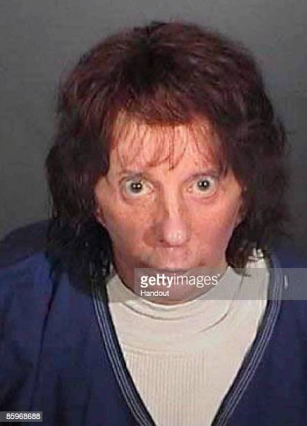 In this police booking photo released by the Los Angeles County Sheriff's Dept rock music producer Phil Spector poses for a mugshot April 13 2009 in...