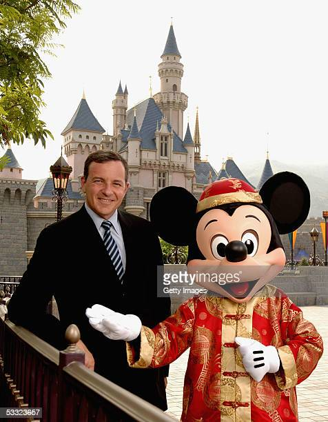 In this previously unreleased handout photo Bob Iger president chief operating officer and chief executive officerelect of The Walt Disney Company...
